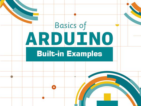 مثال های آماده نرم افزار آردوینو